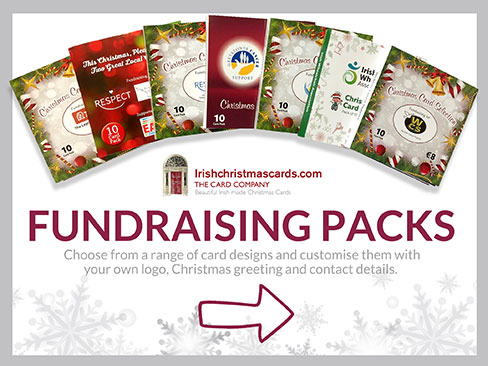 Irish made christmas cards charity fundraising card packs corporate cards fundraising packs reheart Images