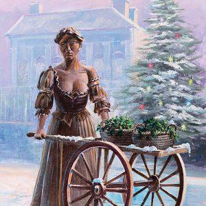 Irish Christmas Cards Molly Malone