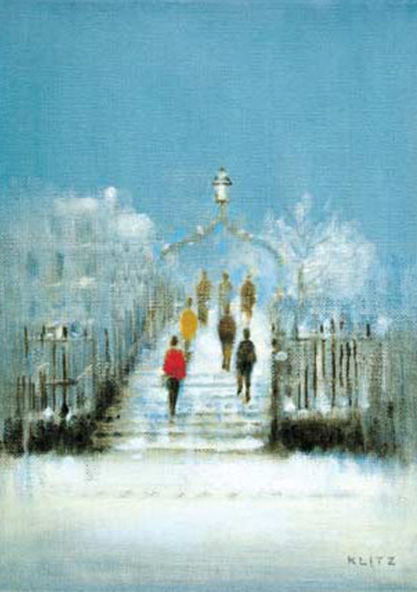 Christmas Cards Ireland Ha penny Bridge