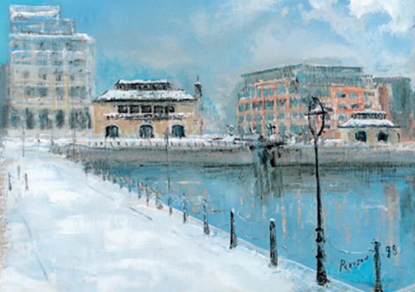 Christmas Cards Ireland - Dublin Landmarks