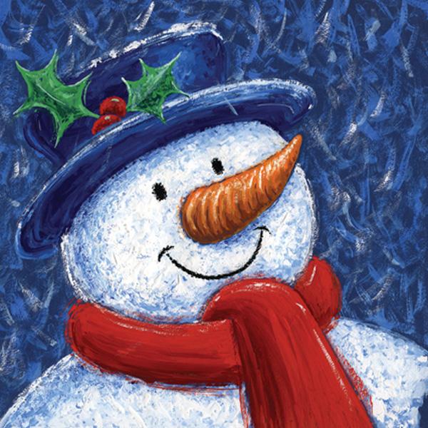 Christmas Cards Ireland - Snow Man