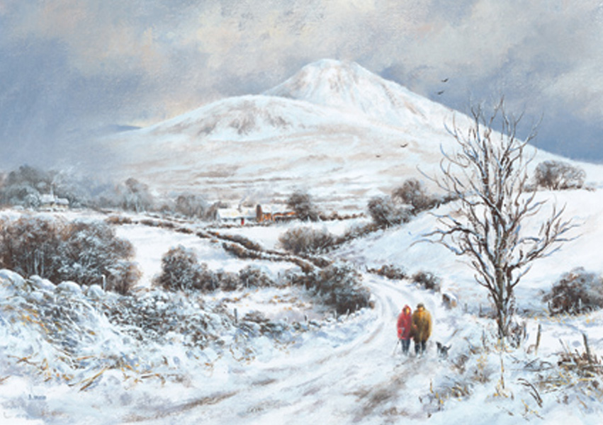 Christmas Cards Ireland - Sugar Loaf