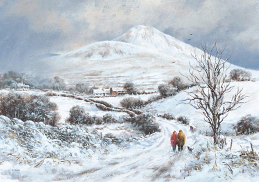 Christmas Cards Ireland - Sugar Loaf