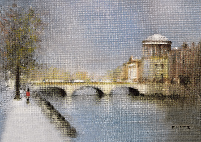 Irish Christmas Cards The Four Courts Dublin