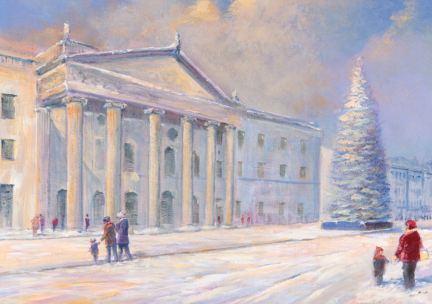 Irish Christmas Cards GPO Dublin