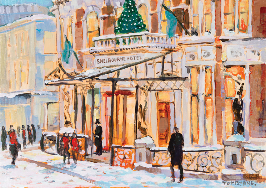 Irish Christmas Cards - The Shelbourne Hotel