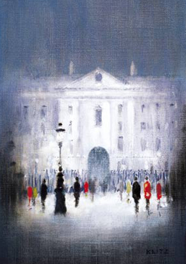 Christmas Cards Ireland - Trinity College