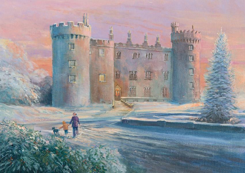 Irish Christmas Cards - Kilkenny Castle