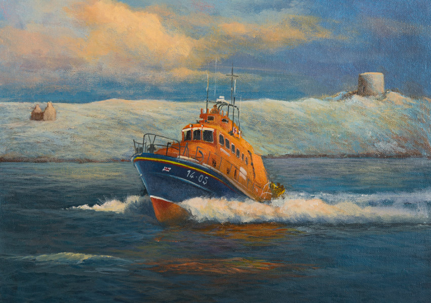 Irish Christmas Cards - Irish LifeBoats
