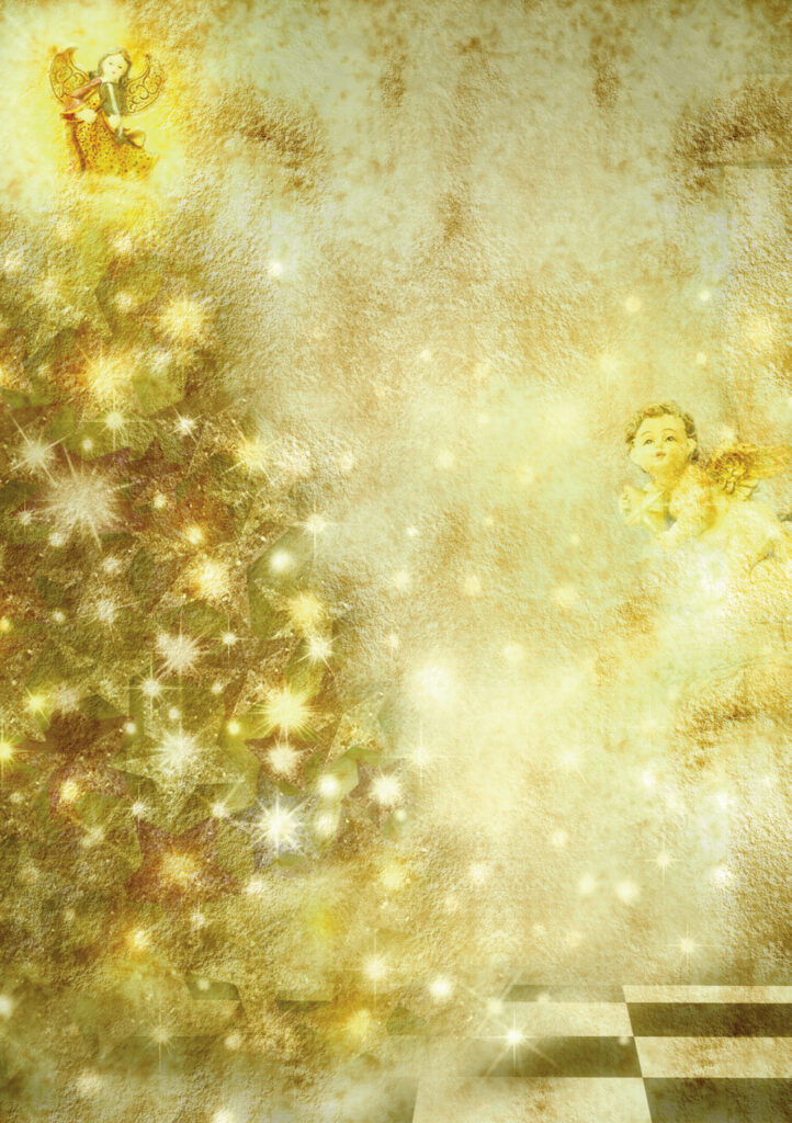 Angel and the Golden Tree