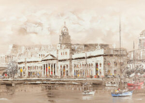 Custom House on the River Liffey