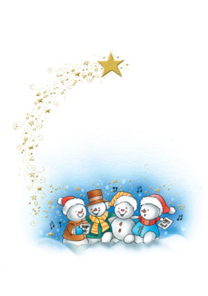 Four Snowmen and the Star