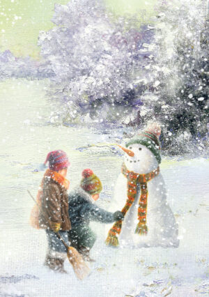 Snowman with the Children