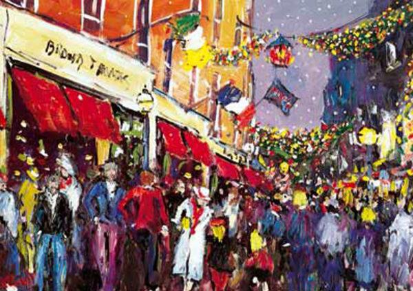 Christmas Eve, Grafton Street, Dublin