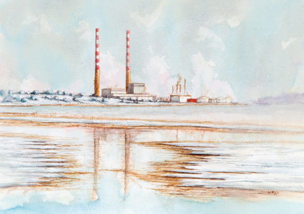 The Poolbeg Chimneys